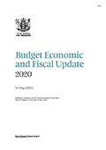 Budget Economic and Fiscal Update 2020.